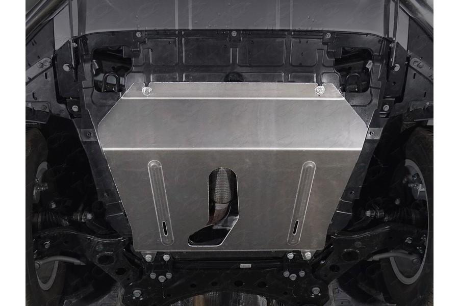 Защиты комплект (алюминий) 4мм (картер и кпп, задн. дифференциал, бак и адсорбер)