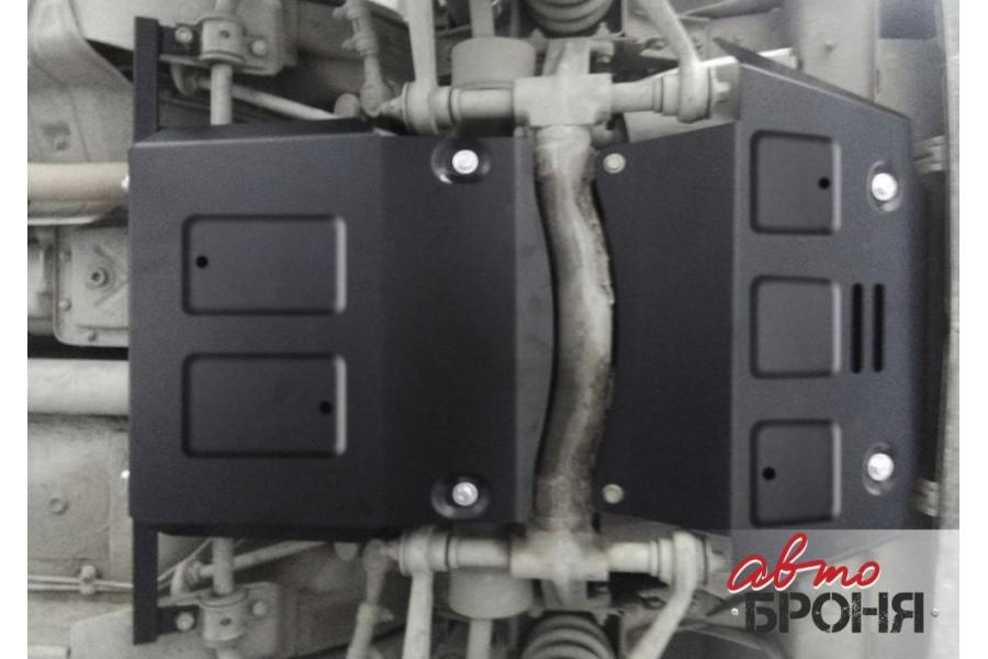 Комплект защит картер+КПП+передний редуктор 1.7