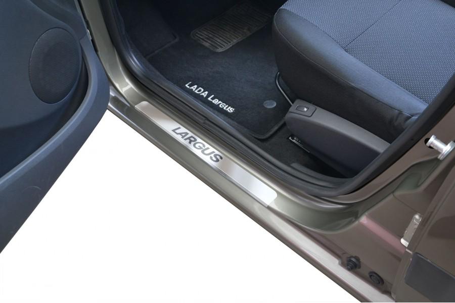Накладки в проёмы дверей (НПС) LADA Largus c 2012