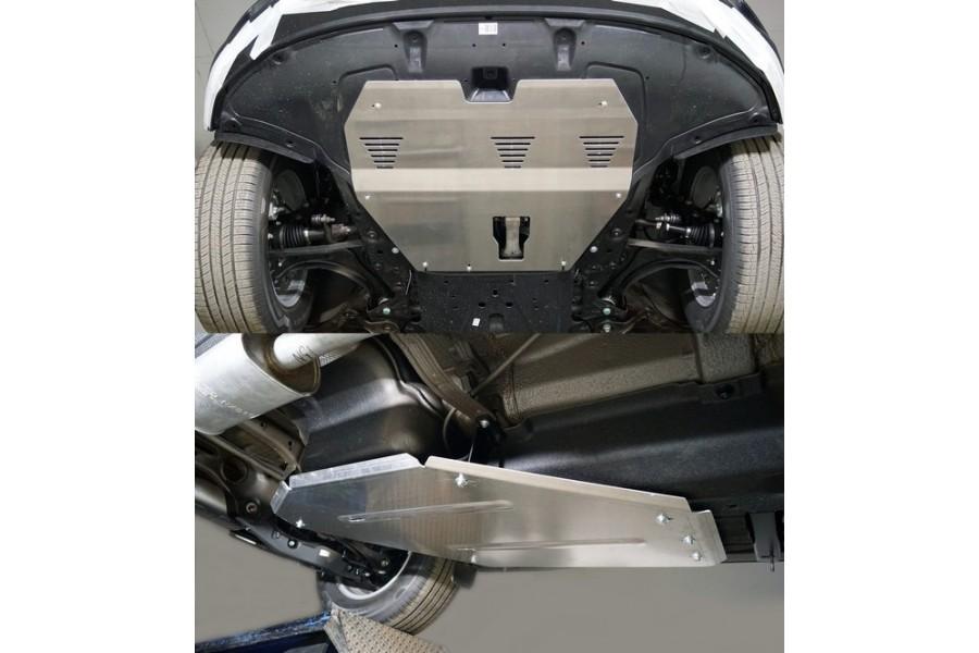 Защиты комплект (алюминий) 4мм (картер и кпп, бак)