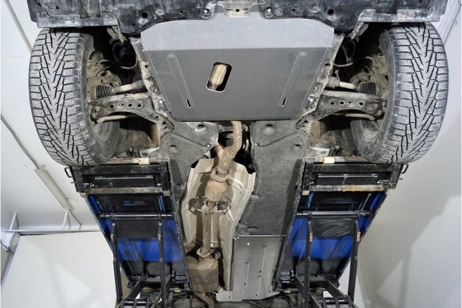 Защиты комплект (алюминий) 4 мм (картер, кпп, задний редуктор, бак)