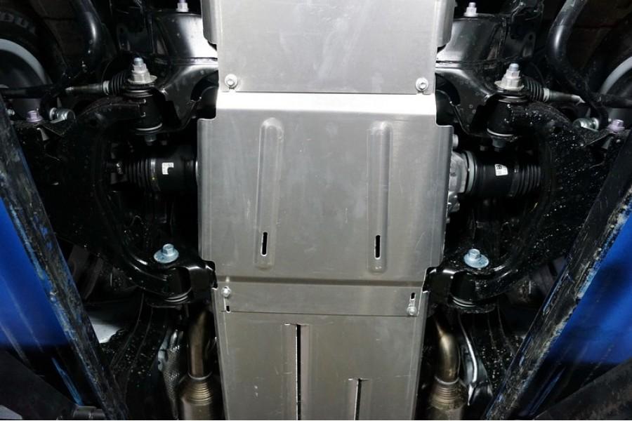 Защита переднего редуктора (алюминий) 4мм
