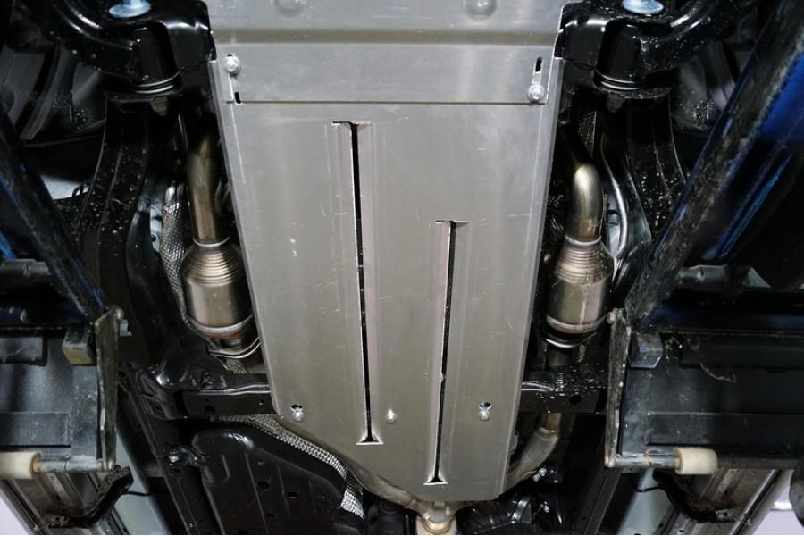 Защита АКПП и раздаточной коробки (алюминий) 4мм