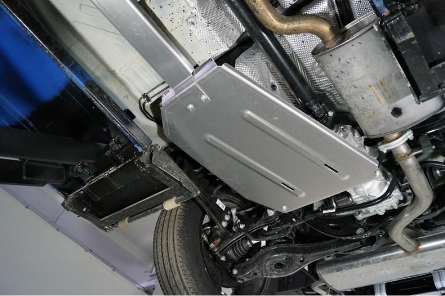 Защита бака и заднего редуктора (алюминий) 4 мм
