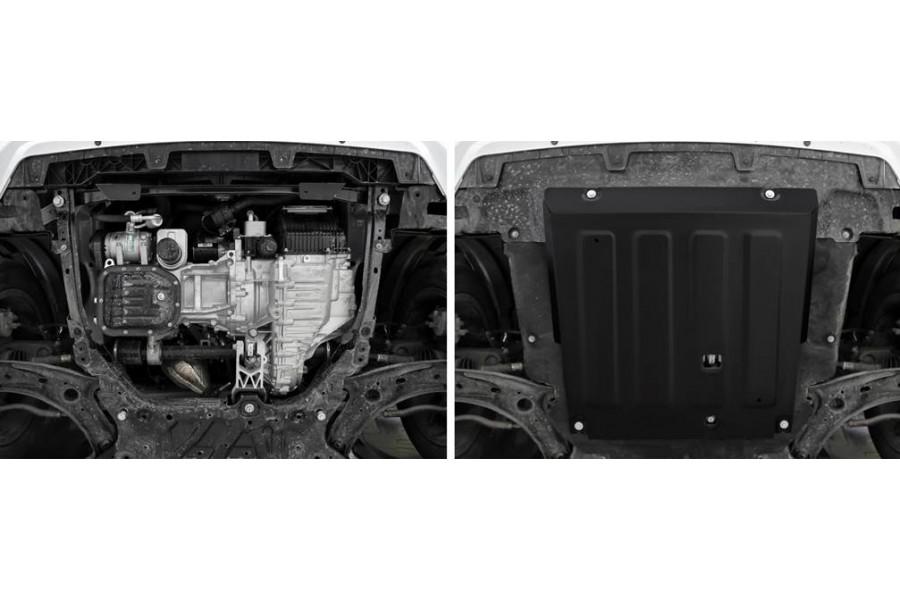 Защита картера + комплект крепежа, Сталь, HAVAL Jolion 1.5T, АКПП, передний привод
