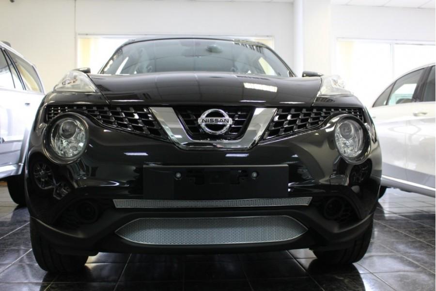 Защита радиатора Nissan Juke 2014- chrome низ PREMIUM