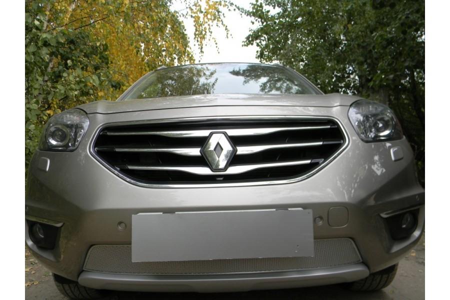 Защита радиатора Renault Koleos 2011-2016 chrome PREMIUM