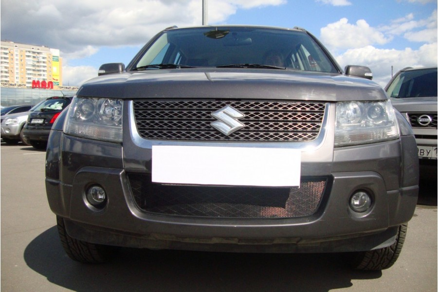 Защита радиатора Suzuki Grand Vitara 2008-2012 black