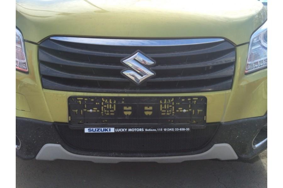 Защита радиатора Suzuki SX4 (II S-Cross) 2013- black