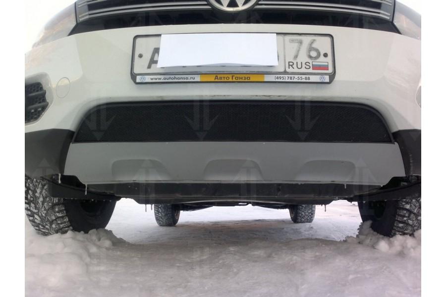 Защита радиатора Volkswagen Tiguan Track&Field 2012- black