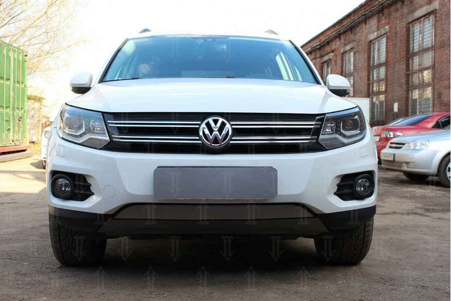 Защита радиатора Volkswagen Tiguan Track&Field 2012- chrome