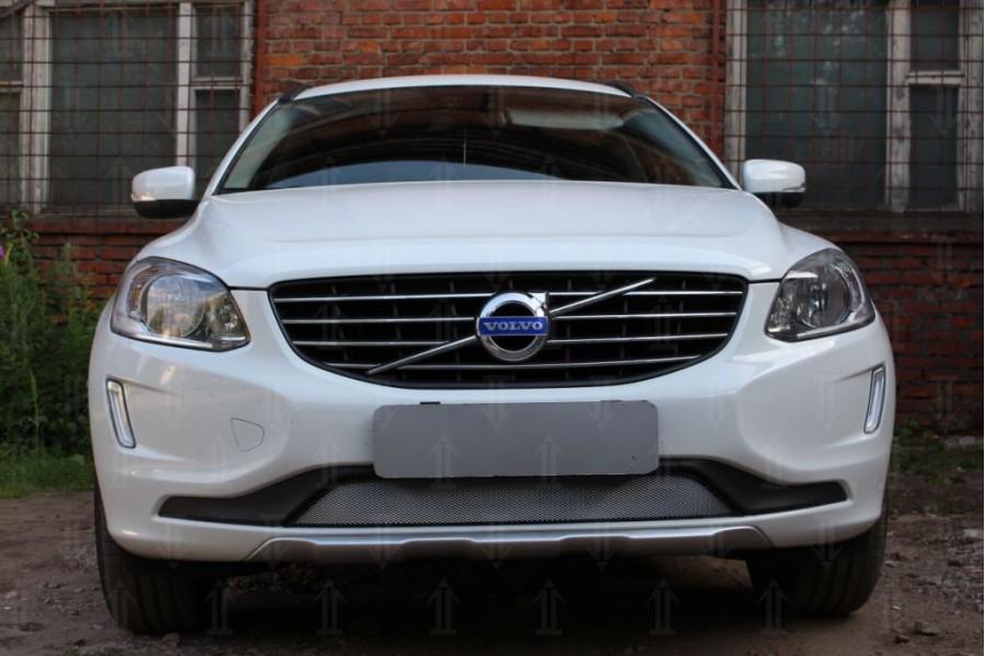 Защита радиатора Volvo XC60 2013-2017 с парктроником chrome