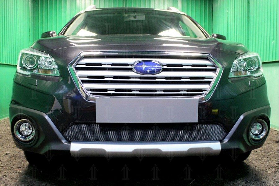 Защита радиатора Subaru Outback V 2015-2018 black