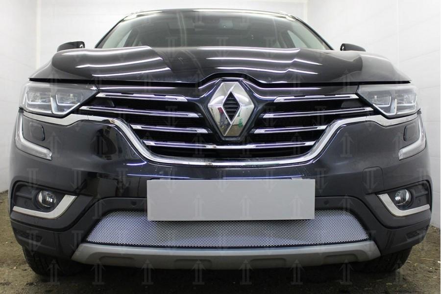 Защита радиатора Renault Koleos II 2016- chrome