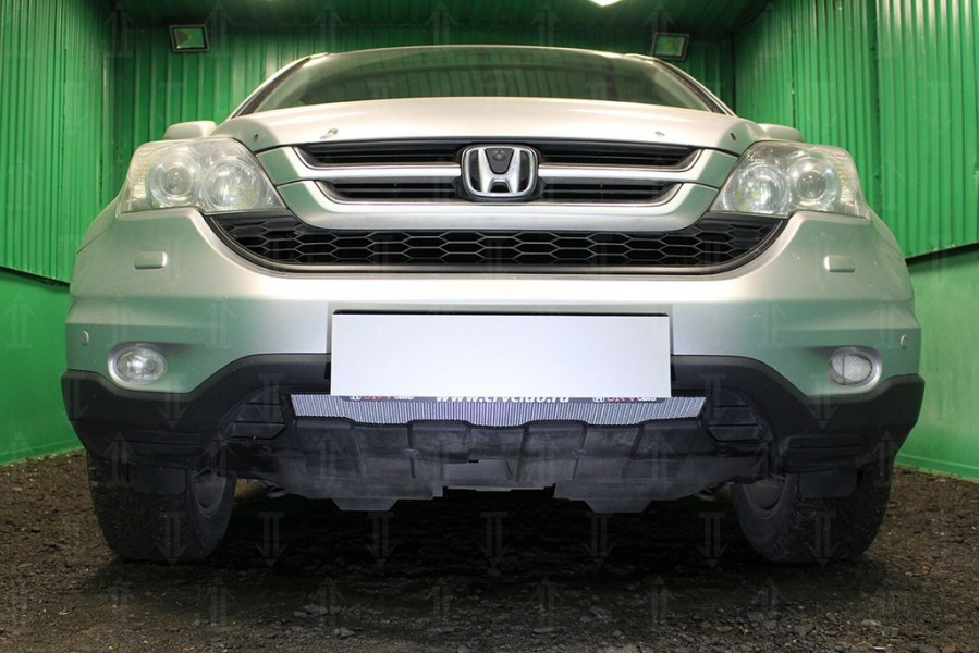 Защита радиатора Honda CR-V III 2010-2012 chrome