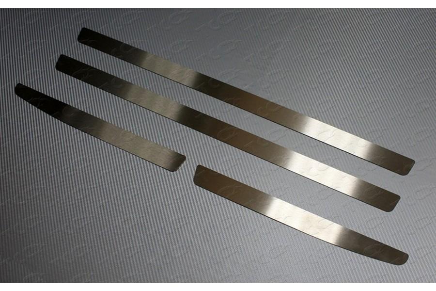 Накладки на пластиковые пороги (лист шлифованный)