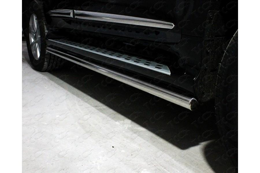 Защита порогов 60,3 мм