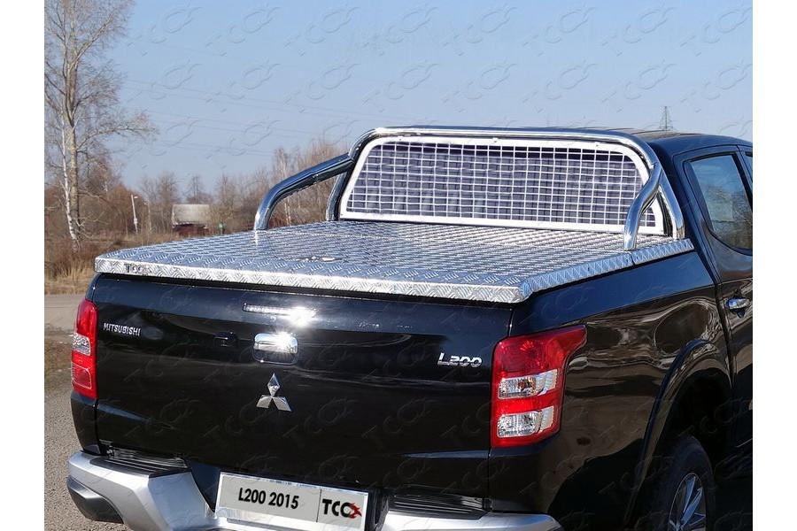 Защита кузова и заднего стекла 75х42 мм (для крышки) (без надписи)