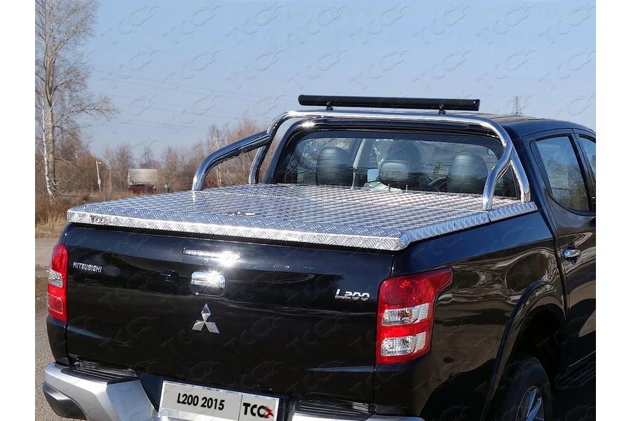 Защита кузова 75х42 мм со светодиодной фарой (для крышки)