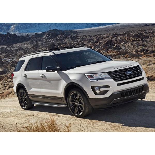 "Порог-площадка ""Premium"" Ford Explorer 2011-2015-"