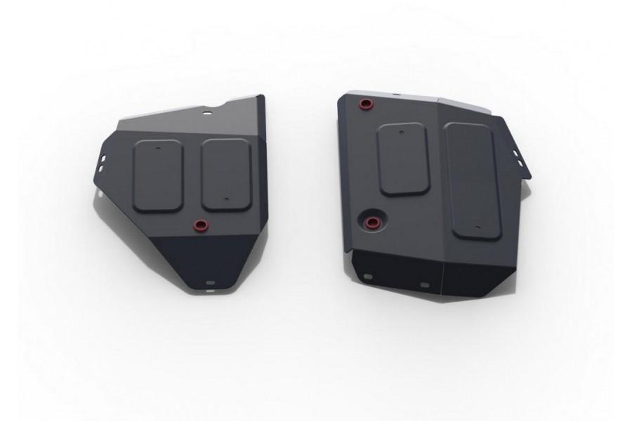 Защита топливного бака Jeep Jeep Compass, V - 2.4 (150 л.с.); полный привод 2018-