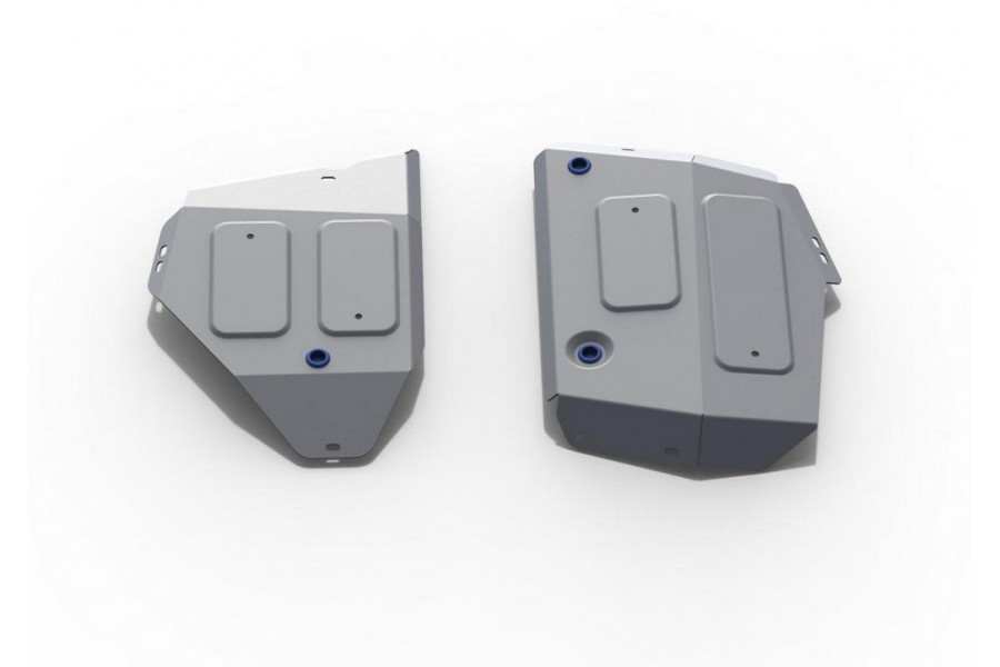 Защита топливного бака Jeep Compass, V - 2.4 (150 л.с.); полный привод 2018-