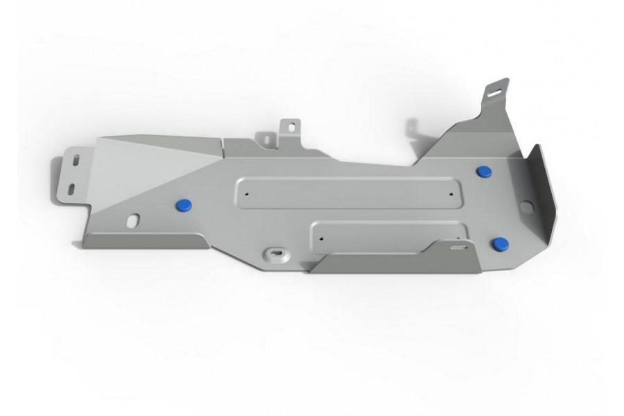 Защита топливного бака Jeep Wrangler JK 2D, V - 3.6; 3.8; АКПП 2007-2018