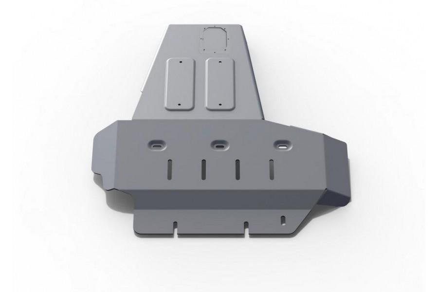Защита картера + КПП Jeep Wrangler JK 2D/4D, V - 2.8d 2007-2018