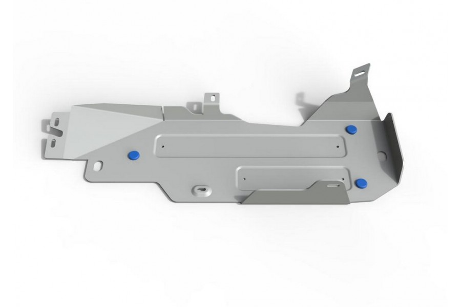 Защита топливного бака Jeep Wrangler JK 2D, V - 2.8d 2007-2018