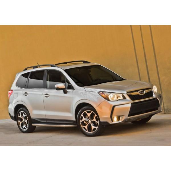 "Порог-площадка ""Premium"" Subaru Forester 2013-2015-2018"