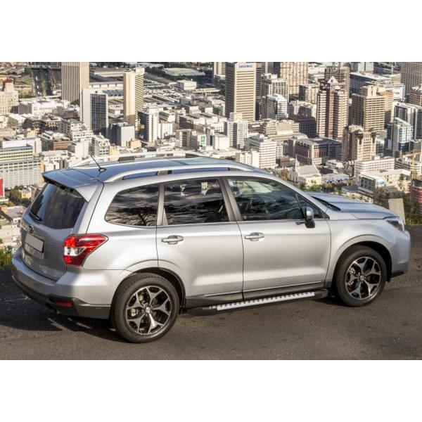 "Порог-площадка ""Bmw-Style"" Subaru Forester 2013-2015-2018"