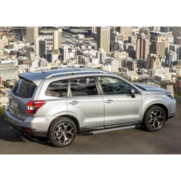 "Порог-площадка ""Silver"" Subaru Forester 2013-2015-2018"