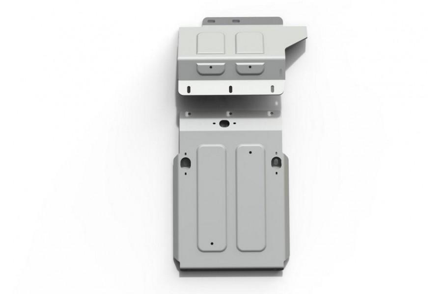 Защита картера Lada 4х4, V - все; 2 Части 2001-2017