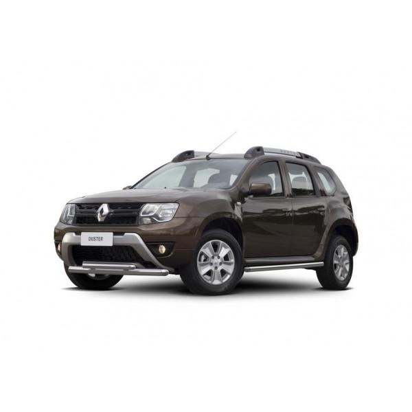 Защита переднего бампера d57+d42 Renault Duster 2015-