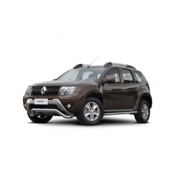 Защита переднего бампера d57 волна Renault Duster 2015-