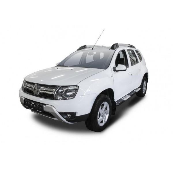 Алюминиевые пороги Renault Duster 2015-