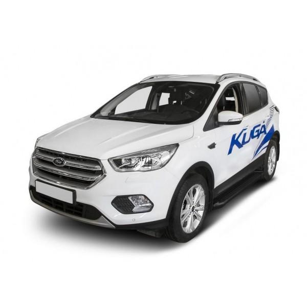 """Порог-площадка """"Black"""" Ford Kuga 2016-"""