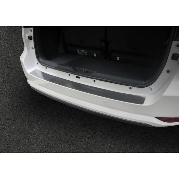 Накладка на задний бампер (1 шт.) Toyota Fortuner 2017-