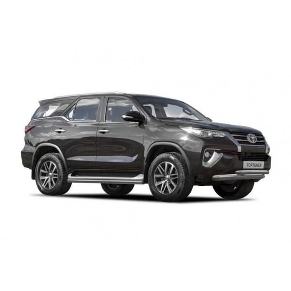 Защита штатного порога d57 Toyota Fortuner 2017-