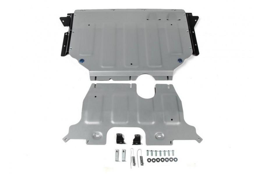 Защита картера + КПП Volkswagen Teramont, V - 2.0 (220л.с.); полный привод; 2 Части 2018-