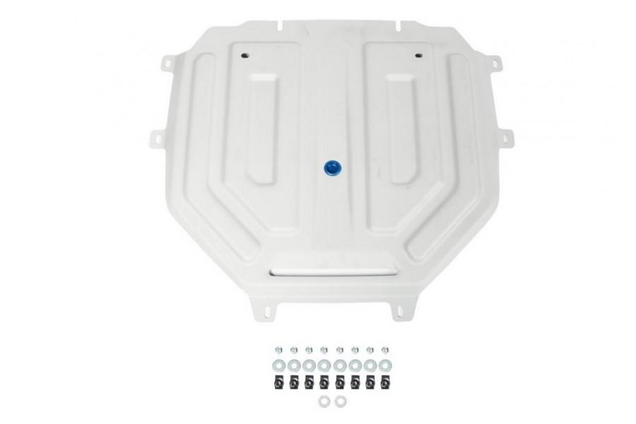 """Защита КПП Volkswagen Touareg, V - 3.0TDI (249 л.с.); 2.0TSI (249 л.с.); 3.0TSI (340 л.с.);  включая пакеты """"Движение по бездорожью"""", """"Подвеска Pro"""" 2018-"""