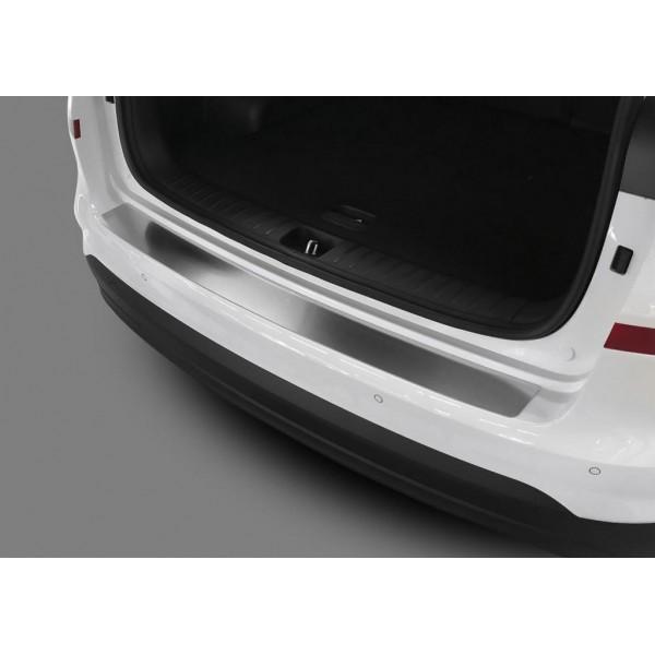 Накладка на задний бампер (1 шт.) Hyundai Tucson, III рестайлинг 2018-