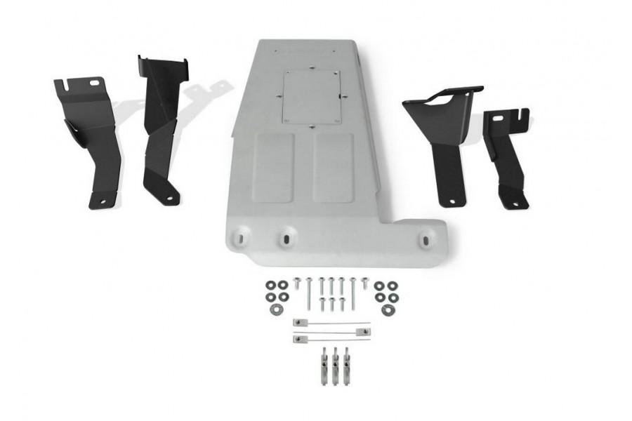 Защита картера Jeep Wrangler JL, V - 2.0T; 3.6 2018-