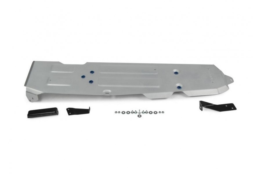 Защита топливного бака Jeep Wrangler JL 4D, V - 2.0T; 3.6; 2.2D 2018-