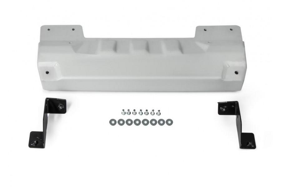 Защита рулевых тяг под алюминиевый бампер Jeep Wrangler JL, V - 2.0T; 3.6; 2.2D 2018-