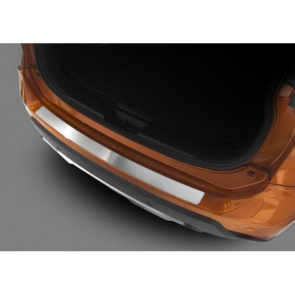 Накладка на задний бампер (1 шт.) Nissan X-Trail, T32 рестайлинг 2017-