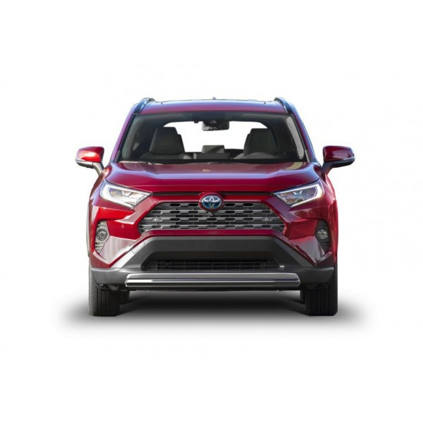 Защита переднего бампера короткая d57, кроме MTR Toyota Rav 4 2019-