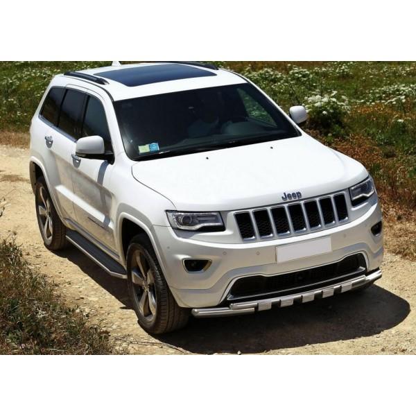 """Порог-площадка """"Premium"""" Jeep Grand Cherokee 2010-2013-2018-"""