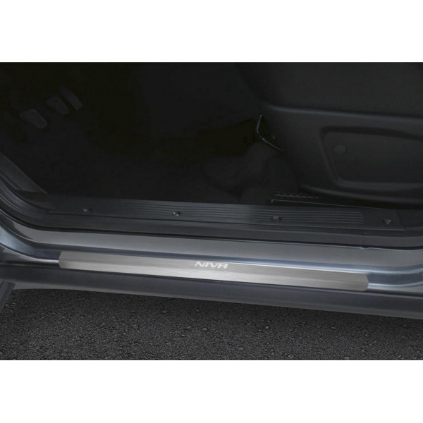 Накладки порогов  (4 шт.) Chevrolet Niva 2009-
