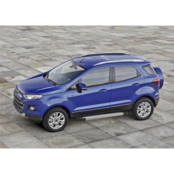 "Порог-площадка ""Silver"" Ford Ecosport 2014-"
